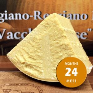 Parmigiano Reggiano vacche rosse Grana d'Oro stagionato 24 - 28 mesi porzionato