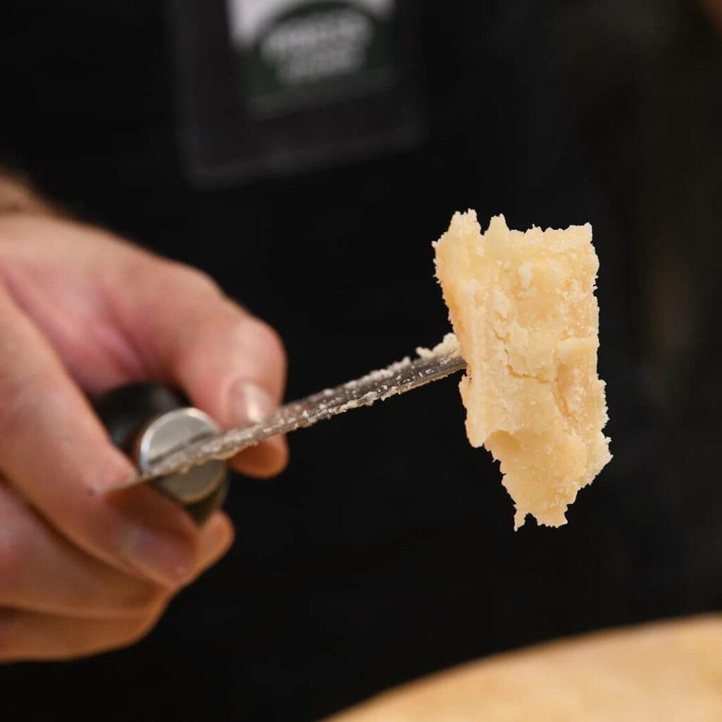 Parmigiano Reggiano vacche rosse Grana d'Oro