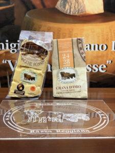 Parmigiano Reggiano vacche rosse Grana d'Oro stagionato 24 - 28 mesi