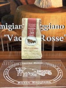 Parmigiano Reggiano vacche rosse Grana d'Oro stagionato 30 - 36 mesi extravecchio